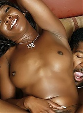 Stacey Cash showing off her sexy black ass while taking a big cock during a webcam show